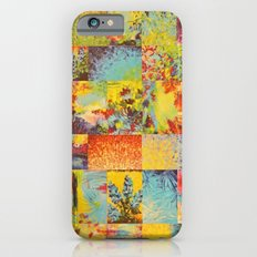 COLORFUL INDECISION 2 - Vibrant Wow Beautiful Abstract Acrylic Painting Collection Nature Rainbow iPhone 6s Slim Case