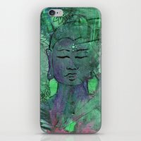 queer iPhone & iPod Skins featuring Queer Buddha ~ Wisdom II by Jamila