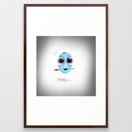 Baby Dory Framed Art Print