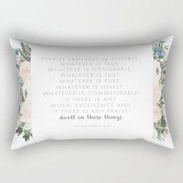 Dwell Richly Rectangular Pillow