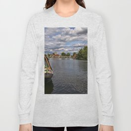The River Thames At Marlow Long Sleeve T-shirt