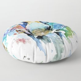 Animal painting Floor Pillow