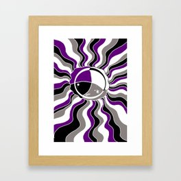 A Splash Jelly Framed Art Print