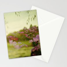 the air smelled like lightning Stationery Cards