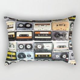 cassette nostalgy Rectangular Pillow