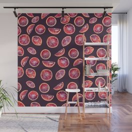 Blood Oranges- Plum Wall Mural