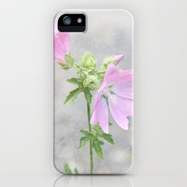 Pink Mallow iPhone Case