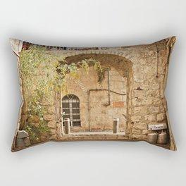 Jerusalem Archway Rectangular Pillow