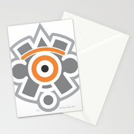 eye of the sun Stationery Cards