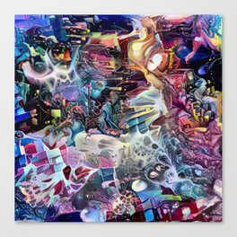 Phantodyssey Canvas Print