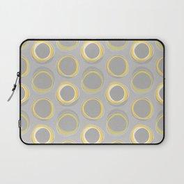 Solar Eclipse MCM Gray-Yellow Laptop Sleeve