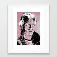 blade runner Framed Art Prints featuring Blade Runner by Giuseppe Cristiano