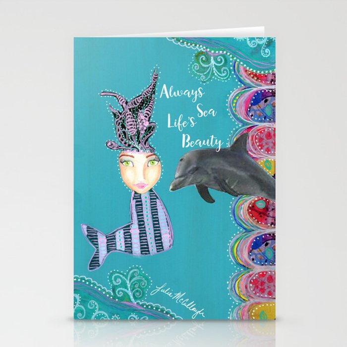 Always Sea Life's Beauty Stationery Cards