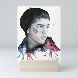 SKAM / DRUCK - David Pride Colors Mini Art Print