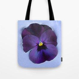 Ultra violet viola tricolor Tote Bag