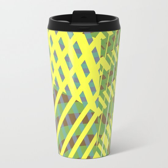 Greens Metal Travel Mug