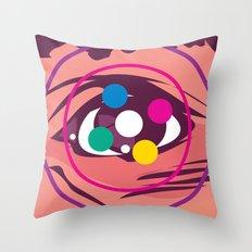 Bad Trip Throw Pillow