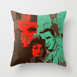 Passionate Ruins Throw Pillow
