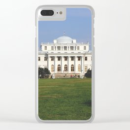 Facade of a Elaginostrovsky Palace Museum Clear iPhone Case