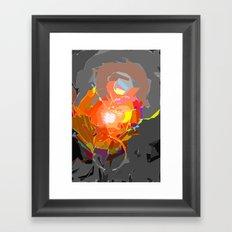 Colour Assault Framed Art Print