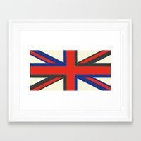 uk Framed Art Prints featuring UK  by Akehworks