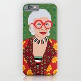 Iris Apfel iPhone Case