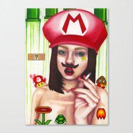 Mamma Mia! Canvas Print