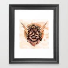 Go Team Venture Brock Framed Art Print