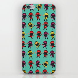 Ninjas iPhone Skin