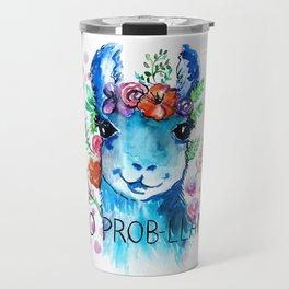 No Prob Llama Travel Mug