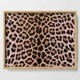 Cheetah Pattern Serving Tray