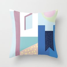 Hotel Mayfair Throw Pillow