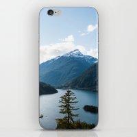 diablo iPhone & iPod Skins featuring Diablo Lake. by Eric-Bird