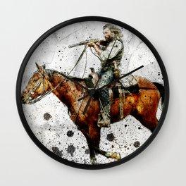 Western Outlaw Cullen Bohannon Wall Clock