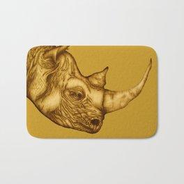 The Golden Rhino Bath Mat