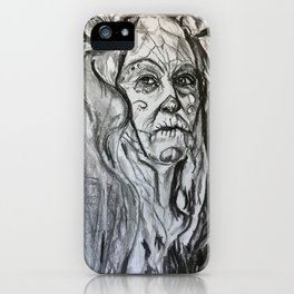 "Study of woman from ""New Mexican Gothic"" iPhone Case"