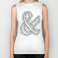 ampersand Biker Tanks featuring Ampersand by Laura Maxwell