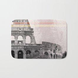 Colosseum Rome Italy Bath Mat