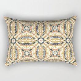Pointillism mosaic 01 Rectangular Pillow