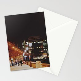 Night Stroll, London.  Stationery Cards