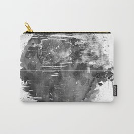 Death Sta Watercolor B&W Carry-All Pouch
