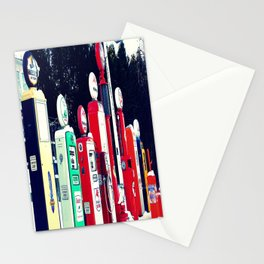 Vintage Gas Station Stationery Cards