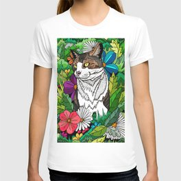 Ellie in the woods T-shirt