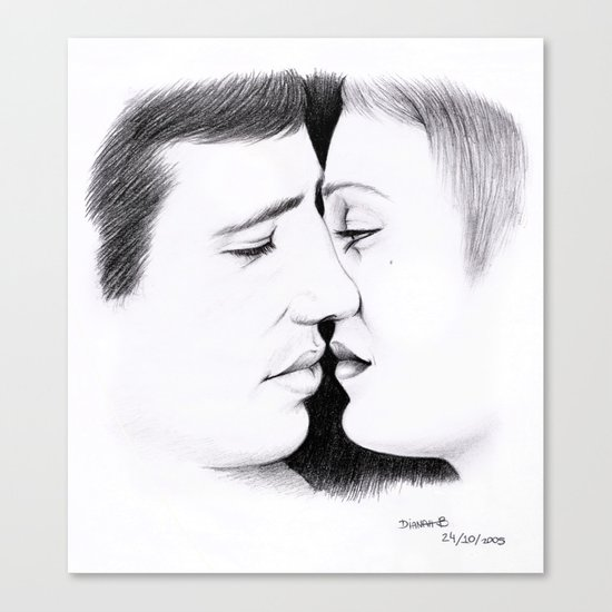 OH L'AMOUR Canvas Print