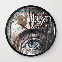 """PSIQUE """"ALMA"""" by Leo Tezcucano Wall Clock"""