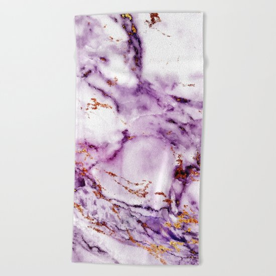 Marble Effect #2 Beach Towel