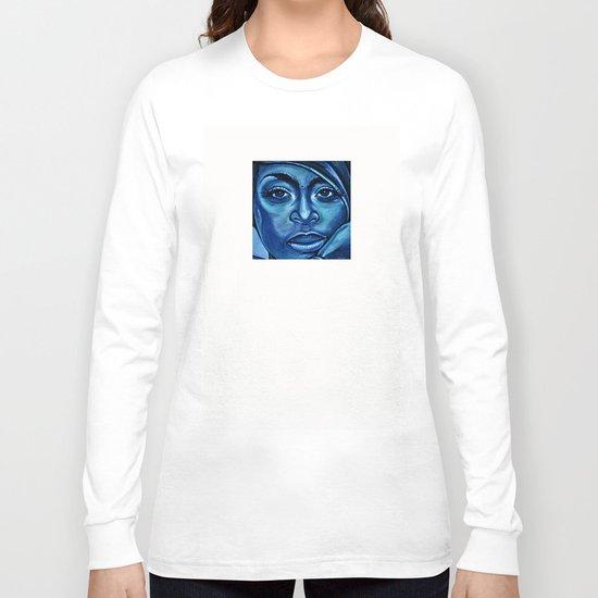 erykah?!../alternative-blue/ Long Sleeve T-shirt
