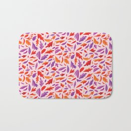 Colors of the Wind Pattern Bath Mat