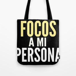 FOCOS A MI PERSONA  Tote Bag