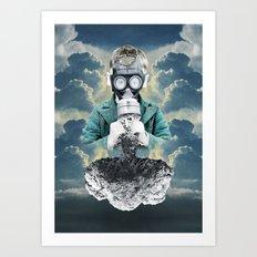 Breathe Easy Art Print